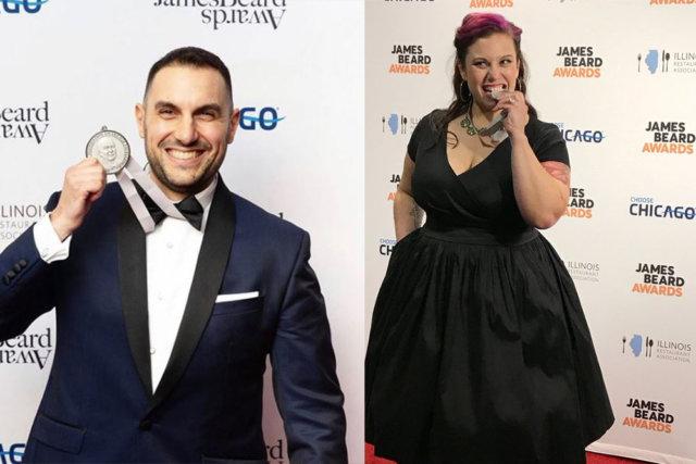 Tony Messina and Karen Akunowicz James Beard