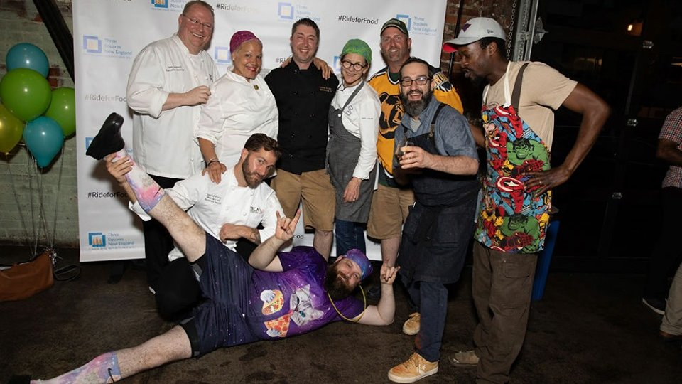 all chefs at ultimate food rescue challenge