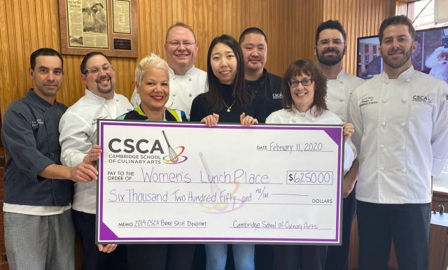 Check Presentation - Womens Lunch Place Edit